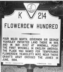 Temperance Flowerdew, Founding Mother