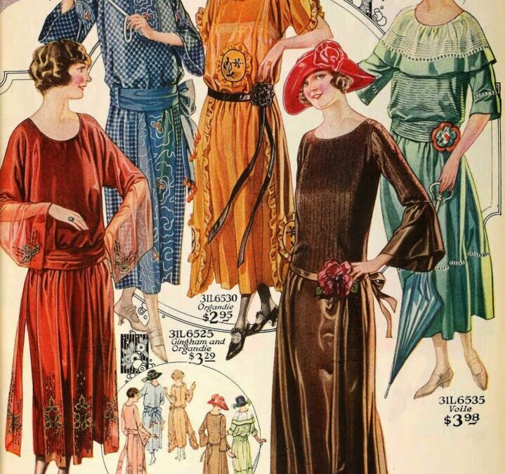 COSTUME DETAILS FOR WRITERS 1920s LADIES
