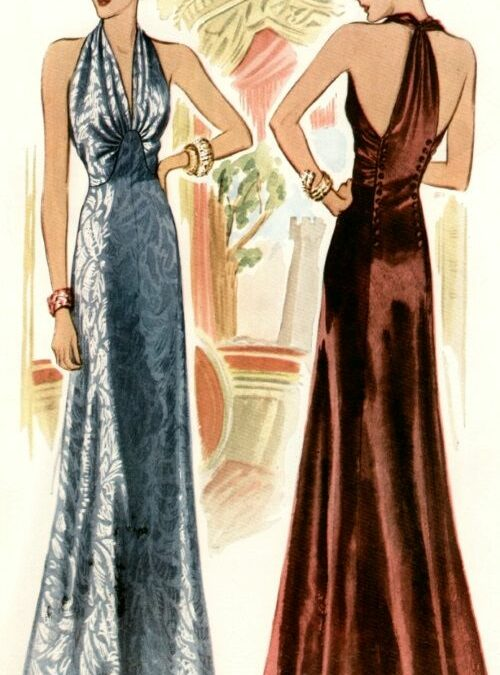 COSTUME DETAILS FOR WRITERS 1930s PART 2