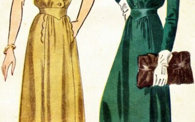 COSTUME DETAILS FOR WRITERS: 1940s LADIES