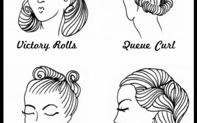 COSTUME DETAILS FOR WRITERS–1940s HAIRDOS